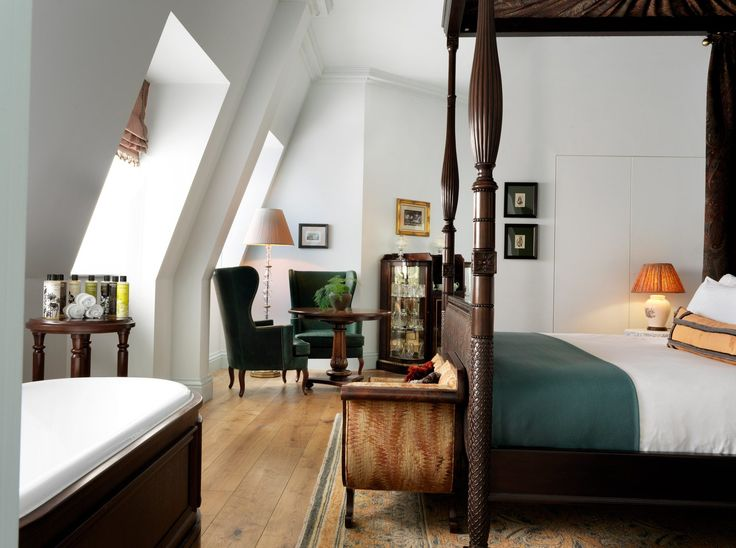 New in London: The Ned Hotel, housed in the former Midland Bank building in the center of the city, with lush period interiors reminiscent of Atonement. Th