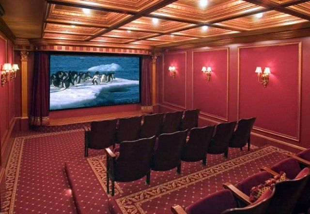 Home Theater Room Design Ideas Home Theater Design Idea Home Media Room Pinterest Classic