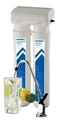 Twin Undersink Quick Connect Water Filtration System Kit