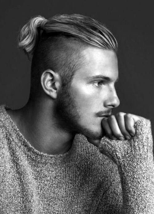 Image result for men long hair undercut