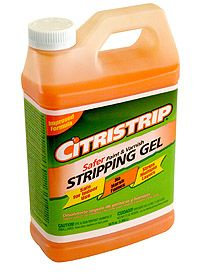 """thelittleblackdoor: """"So I pulled out the always trustyCitristrip. And good news, they now also have thisstuff in a spray can. Wish I had known that before I started. There is zero smell with this stuff. In fact it smells kind of minty fresh. And it is low VOC, so no worries about harming the littles with my projects."""""""