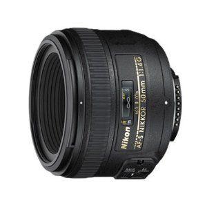 Nikon AF-S Nikkor 50mm 1:1,4G Objektiv (58mm Filtergewinde)