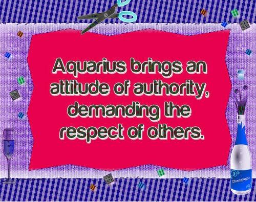 Aquarius zodiac, astrology sign, pictures and descriptions. Free Daily Horoscope - http://www.free-horoscope-today.com/aquarius-monthly-horoscope.html