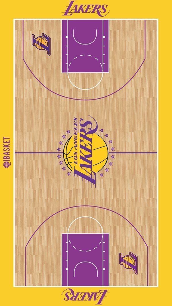 Pin By La Vista Johnowh On Canchas In 2020 Lakers Wallpaper Basketball Players Nba Lakers Basketball