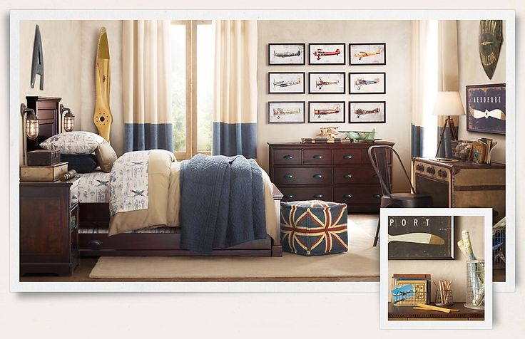 Restoration Hardware Trundle Bed Boys Room Ideas