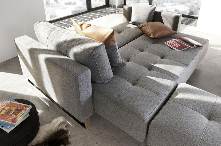 Click here to find out more about this sofa bed by Innovation Living: http://www.studioydesign.ca/innovation-living/ #sofabed #daybed #Innovationliving