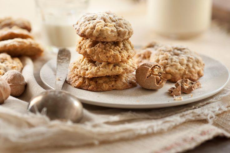 Cookies de avena y nueces