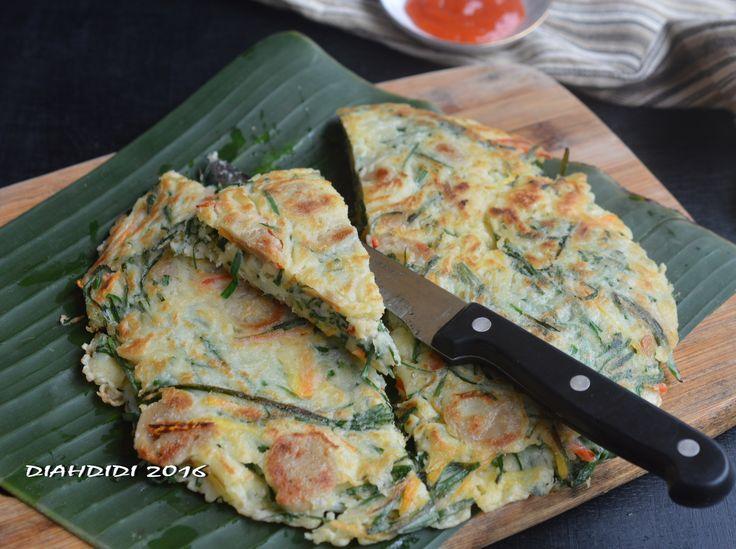 Diah Didi's Kitchen: Pancake Sayur Ala Korea