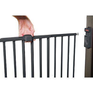 Dreambaby® Broadway Extra Wide Gro-Gate® in Charcoal