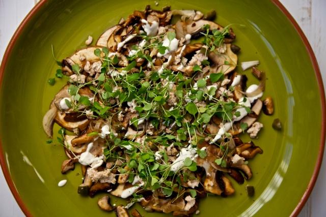 Mushroom Fennel Carpacchio | RAW FOOD RECIPES | Pinterest