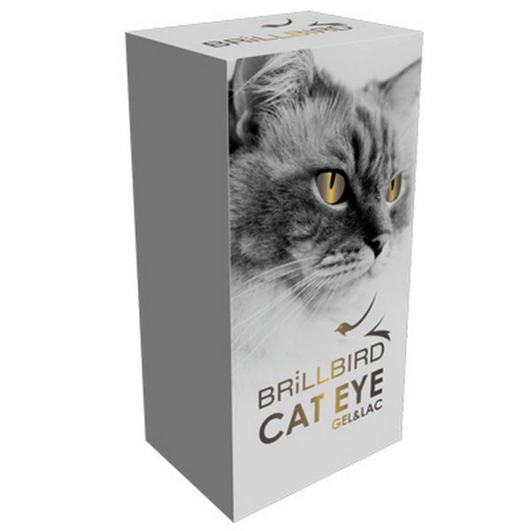 Cat Eye Gél Lakk - Macskaszem effekt - Gold 5ml
