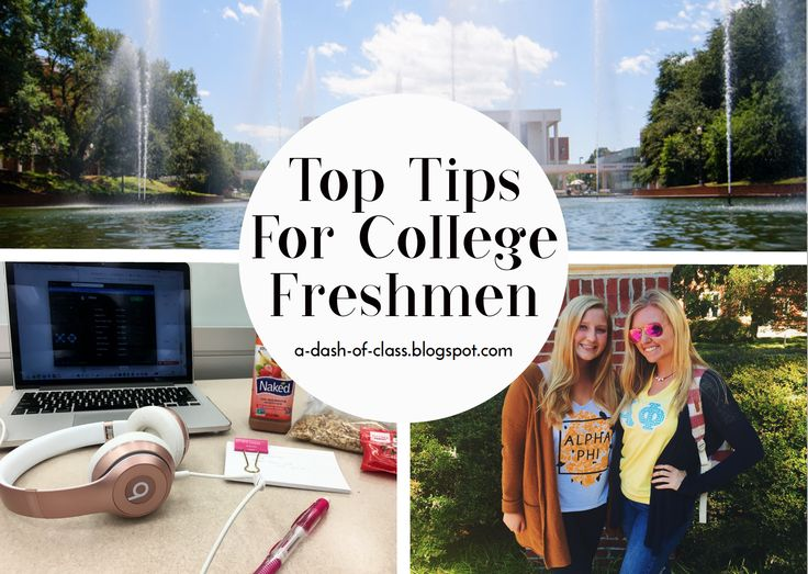 Top tips/advice for college freshman.  #collegelife #college #freshmen #tips #advice