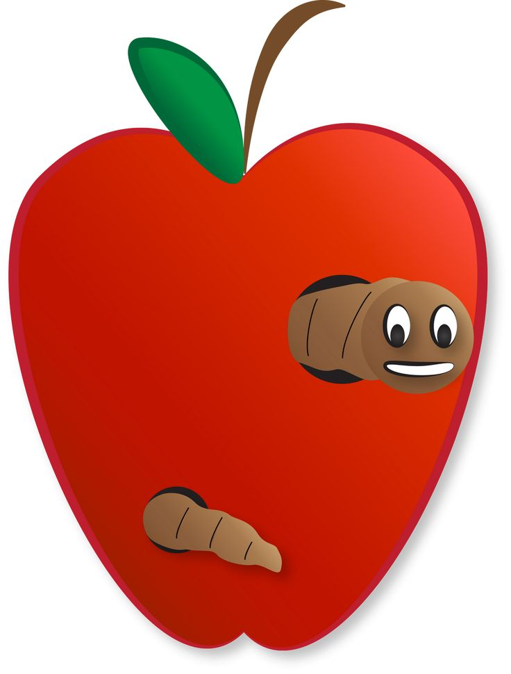 Carrie's Speech Corner: Back to School Week: Open Ended Wormy Apples Game