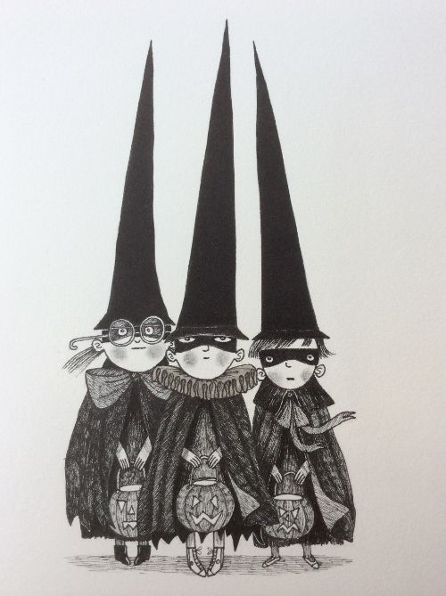 David Roberts illustration. From Interview with David Roberts, illustrator of Iggy Peck, Architect, Rosie Revere, Engineer and Happy Birthday Madame Chapeau written by Andrea Beaty.