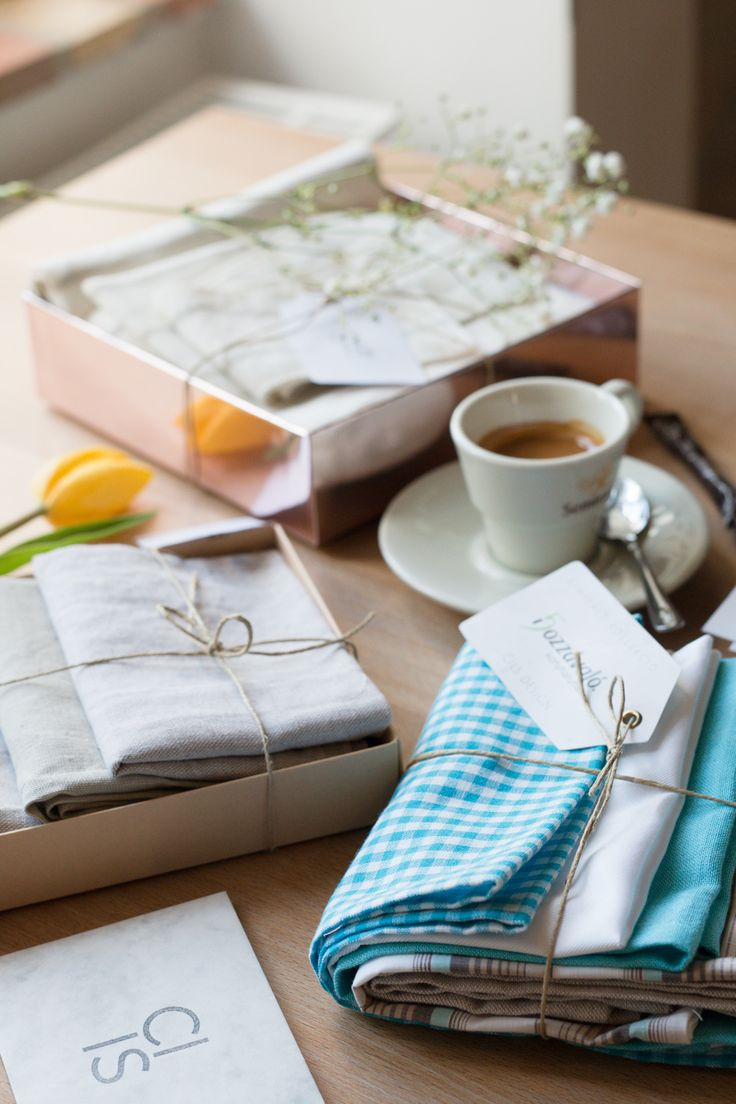 We are so in love with linen goodies