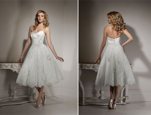 Superbe Maggie Sottero Bridalu0027s Sweetheart Neckline And Knee Length Skirt Make This  A Gorgeous Choice For · Wedding Reception DressesUsed Wedding DressesCheap  ...