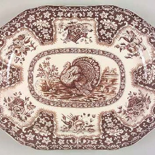 Spode Festival Turkey Platter- this is my Thanksgiving plate set!  sc 1 st  Pinterest & 138 best turkey transfer images on Pinterest | Porcelain Dish sets ...