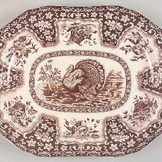 Spode Festival Turkey Platter