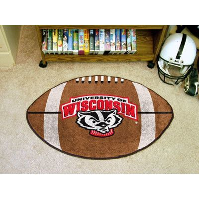 FANMATS NCAA University of Wisconsin Football Mat