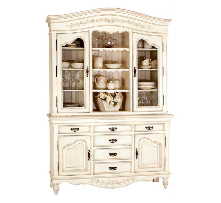 Трехдверный буфет «Романс» – дань уважения и восхищения французских мастеров предметами мебели прошлых эпох. Такое изделие прекрасно дополнит собой обстановку кухни, гостиной или столовой, оформленных в стиле классика и прованс, и моментально создаст в помещении бесценную атмосферу домашнего уюта.  Мебель в стиле прованс, шкаф, интерьер, provence, france.