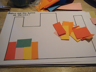 This idea can be used for the Rebuilding the Temple Game http://resourcewell.s3.amazonaws.com/children/prophetsandpromises/PP.U9.L46-Ages6-7_TeachersGuide.pdf                         or the Walls of Jericho