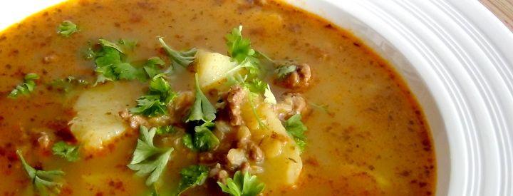 Gulášová polévka zdravěji
