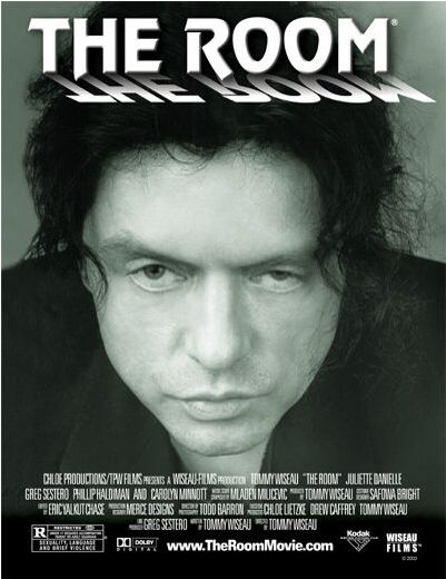 The Room Movie - http://johnrieber.com/2013/10/27/tommy-wiseaus-classic-the-room-now-a-book-tommys-secrets-revealed/