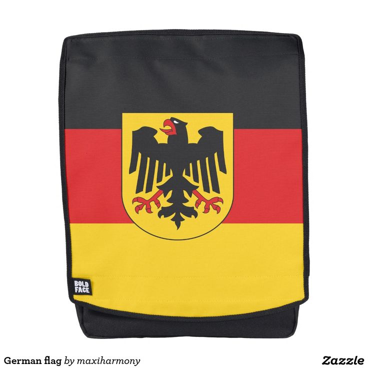German flag backpack