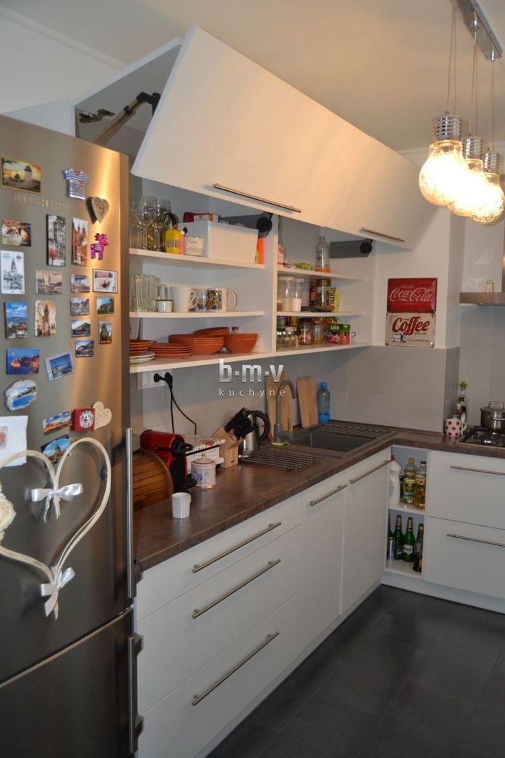 Biely drevodekor - BMV Kuchyne