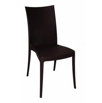 Cadeira Tramontina Laura Ratan -Preta