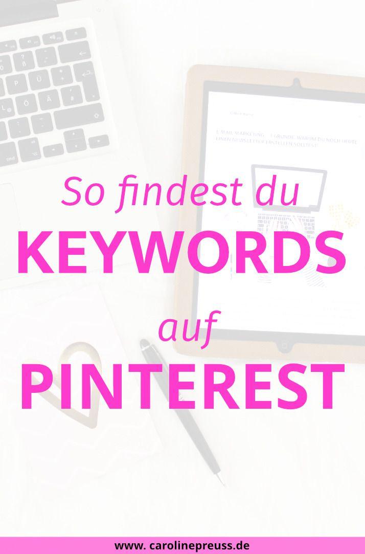 Pinterest-Tipp: SEO & Keywords für Pinterest erklärt