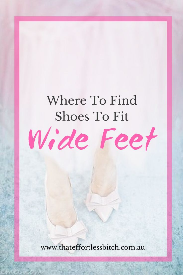 Wide Fit Shoes | Shoes For Wide Feet