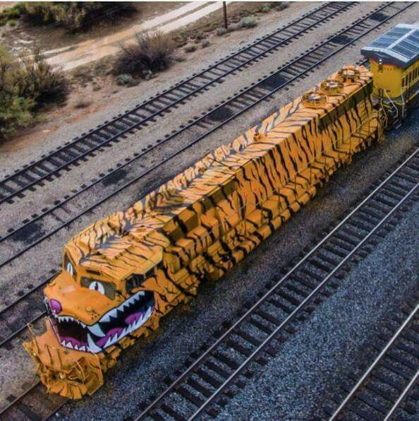 Now that's a cool locomotive
