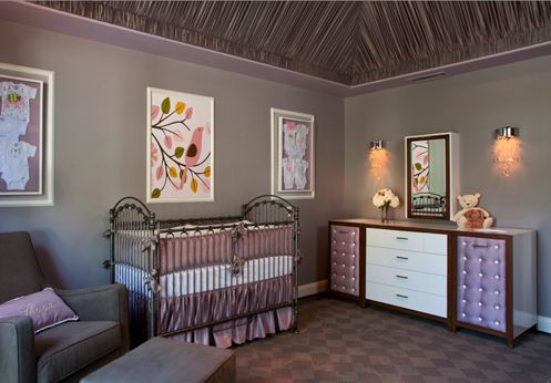 This is my friend from IDI's nursery design. very glamours!
