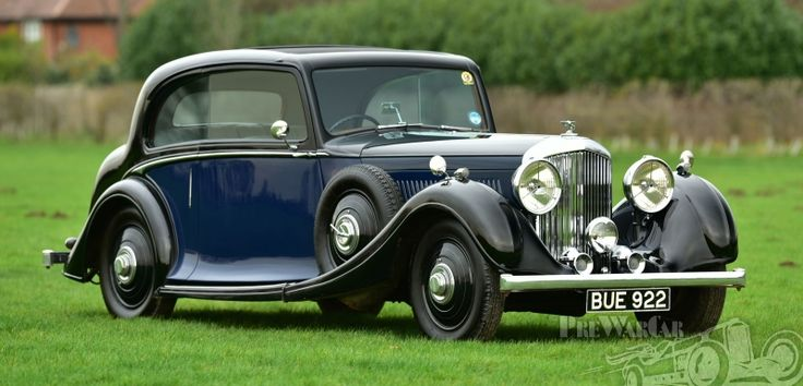 1935 Bentley Derby 3 1/2 Litre Rippon Pillarless Coupe