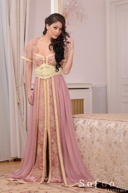 la vie en rose la noblesse du caftan collection 2014 crations haute couture orientale - Robes Orientales Mariage