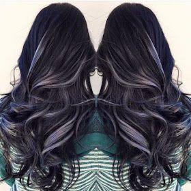 Wonderful Highlights for Dark Hair!