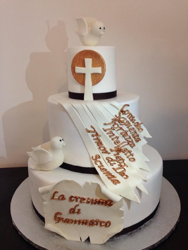 Oltre 25 fantastiche idee su torte per la cresima su pinterest torte per battesimo torta - Decorazioni per cresima ...
