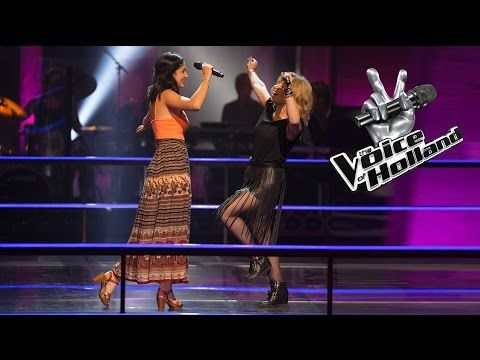 Jasmine Karimova vs. Melissa Meewisse – Hold My Hand (The Battle | The voice of Holland 2015) - YouTube