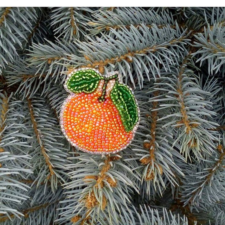 beautiful beaded ornament