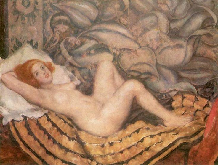"""https://www.facebook.com/owl.a.bagoly/photos  Csók István: """"Honni soit qui mal y pense..."""" 1925 Olaj, vászon, 124 x 163 cm Magyar Nemzeti Galéria, Budapest"""