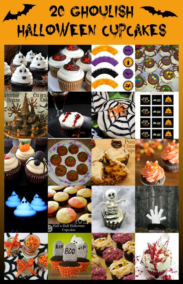 Halloween Cupcake Recipes - Savvy Shopper Central