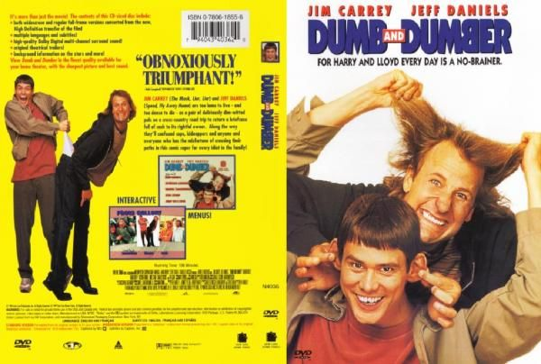 Dumb Dumber 1994 Dvd Covers Movie Covers Dumb And Dumber