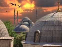Büyüleyici mimarisi… Binlerce yıllık tarihinde pek çok medeniyeti ağırlayan kentte Ayasofya, Galata Kulesi, Kız Kulesi'nin yanı sıra saraylar, hanlar, çarşılar, konaklar, vs. adım başı sürpriz yapıyor yollarını arşınlayanlara… #turkey #istanbul #tarih #history #seyahat