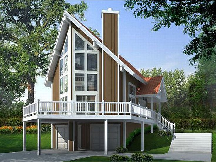 The Low Cost Of Construction The A Frame House Plans Building Has Been .