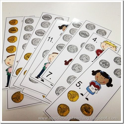 Great counting money activity