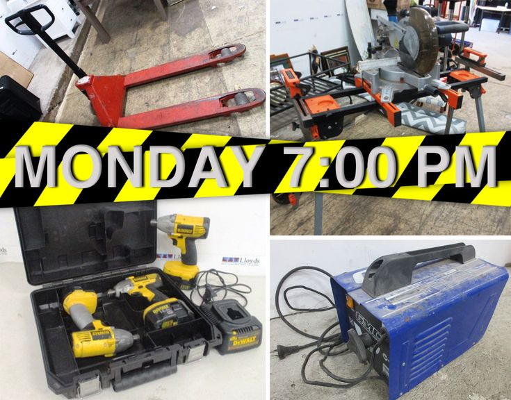 TONIGHT at 7:00 pm!  Saws - hammers - drills - chainsaws - toolboxes  - workbenches - container domes and SO much more ➡️ https://www.lloydsonline.com.au/AuctionLots.aspx?smode=0&aid=7892&utm_content=buffer8798e&utm_medium=social&utm_source=pinterest.com&utm_campaign=buffer