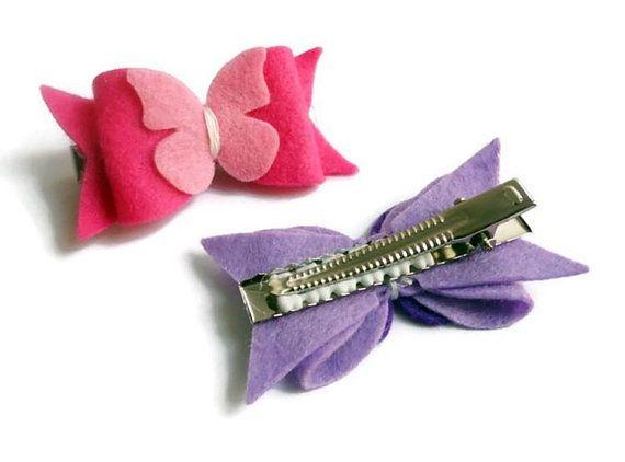 Hair clips butterflies hair clip Hair bows hair clips for