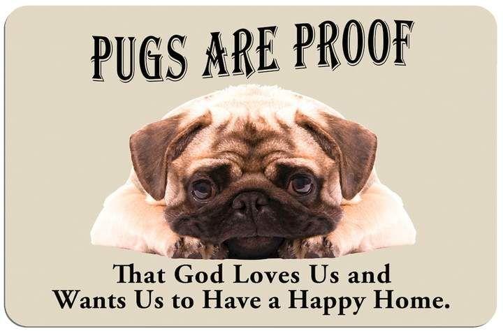 Kohl S Pugs Are Proof Dog Floor Mat Pugs Dog Flooring Baby