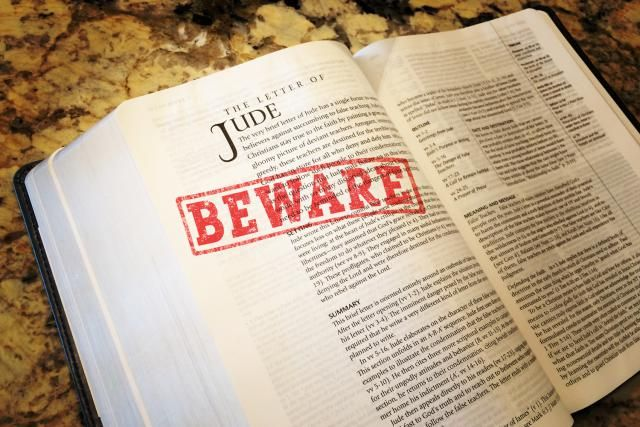 Even Now the Book of Jude Cries Out: 'Beware of False Teachers'